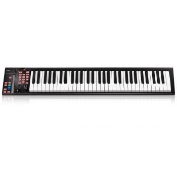 Icon iKeyboard 6X Teclado Controlador MIDI 61 Teclas