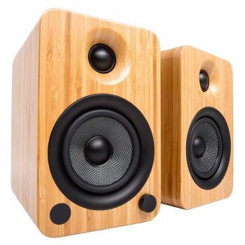 Kanto KANTO YU4 BAMBOO Altavoz Amplificado con Bluetooth