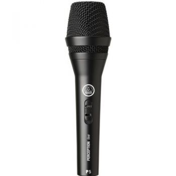 AKG PERCEPTION P-5S Microfono Vocal  Microfono Mano Akg P5 S Und.