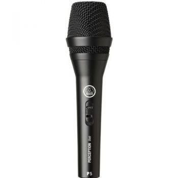 AKG PERCEPTION P-5S Microfono Vocal  Microfono Mano Akg P5 S Und.