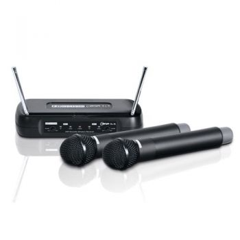 LD SYSTEMS ECO 2x2 HHD2 Microfono Inalambrico Doble de Mano