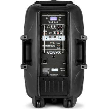 Vonyx SPJ-PA915 170.080 Altavoz Móvil Activo 15