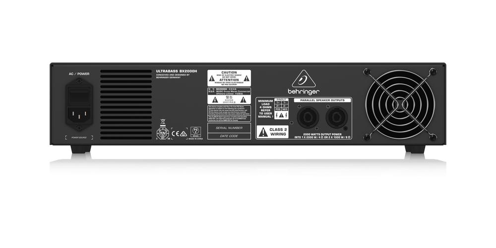 BX2000H behringer conexiones