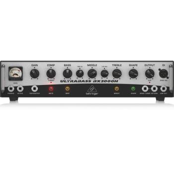 BEHRINGER BX2000H Ultrabass, 2000w, Amplificador Clase D