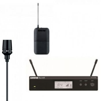SHURE BLX14RE-CVL Microfono inalambrico de Solapa