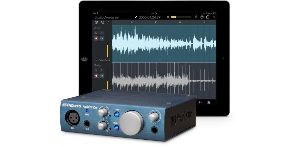 presonus audiobox ione interface audio midi