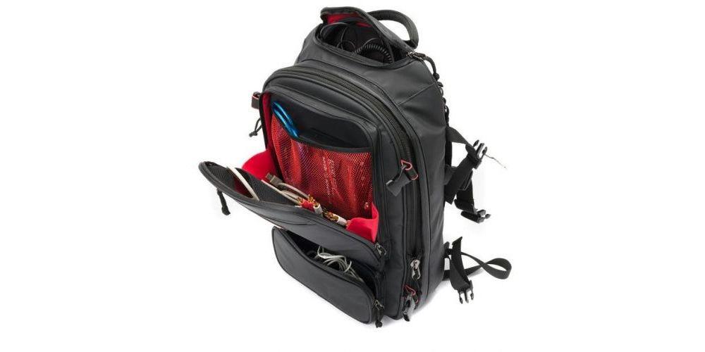 mochila dj magma riot dj backpack