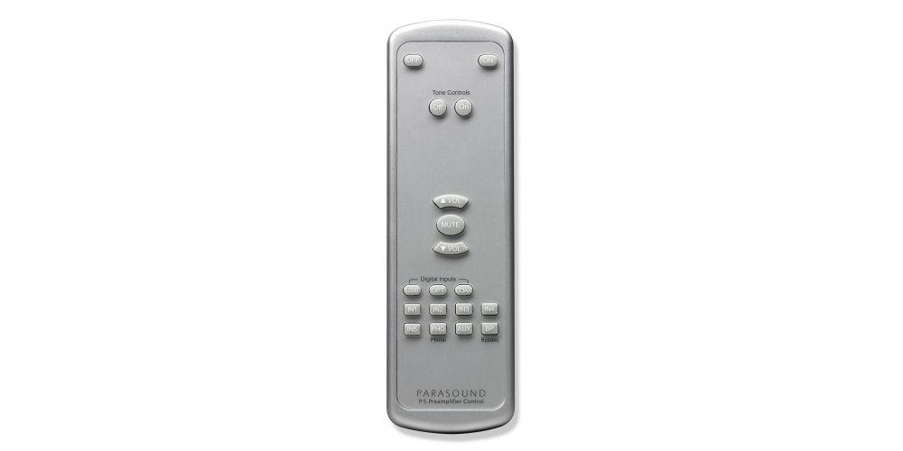 parasound halo p5 silver previo mando
