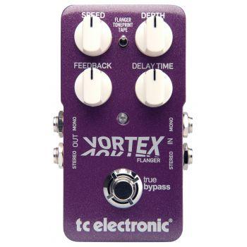 TC Electronic Vortex Flanger Pedal Efectos