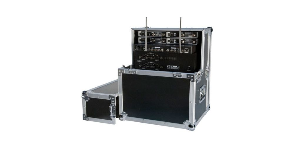 dap audio wireless microphone case 2 rack