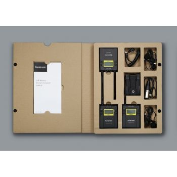Saramonic UwMic9 (TX9+TX9+RX9) Mic Wireless UHF
