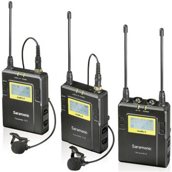 Saramonic UwMic9 (TX9+TX9+RX9) Mic Wireless UHF