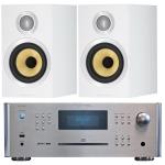 ROTEL RCX 1500 Silver+B&W CM1S2 White