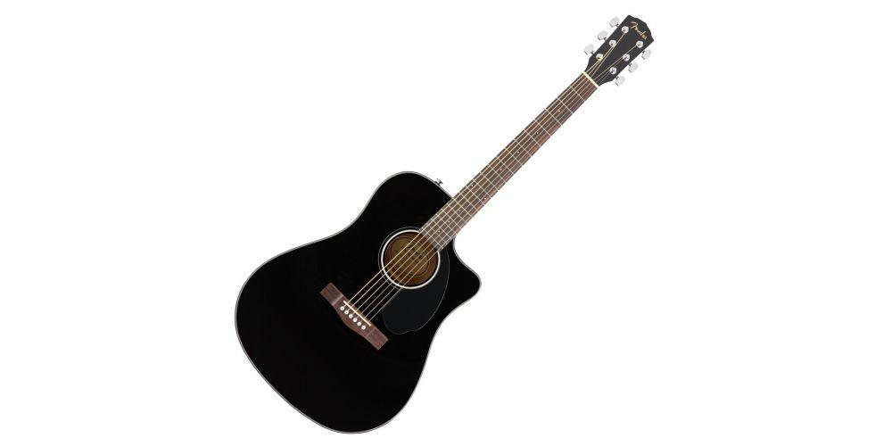fender cd 60sce black guitarra acústica