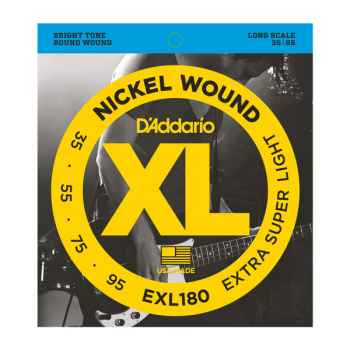 D´addario EXL180 Super Light para Bajo