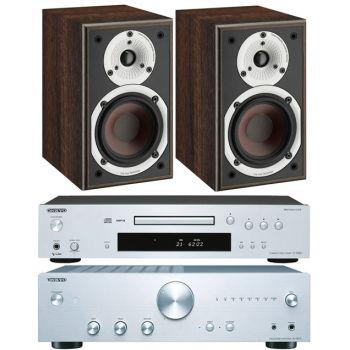Onkyo A9010S+C7030S+Dali Spektor 1 Walnut, Conjunto Audio