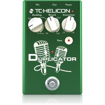 TC helicon Duplicator Pedal de Efectos para Voz -