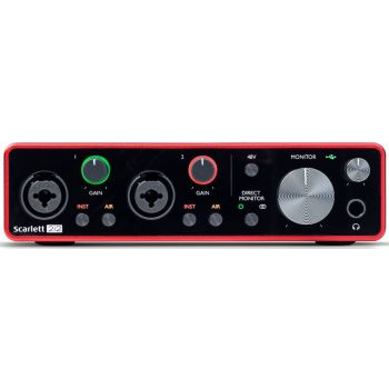 Focusrite Scarlett 2i2 3rd Gen Interface Audio