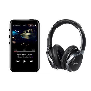 FIIO M6 Reproductor-Hi-res+Edifier W860NB Auriculares Bluetooth Cancelacion Ruido