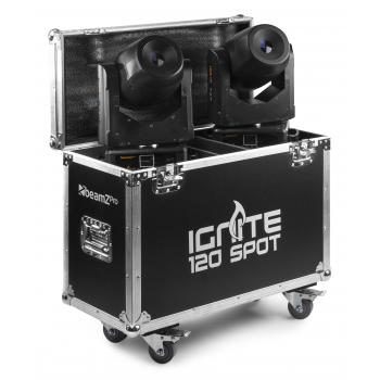 Beamz IGNITE120 SET 2 CABEZA MOVIL SPOT 120W LED EN 150424