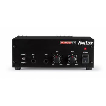 Fonestar FS-70 Amplificador de Megafonía para Coche