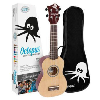 Octopus UK 200 YN Ukelele Soprano Natural