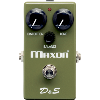 Maxon D and S Distortion / Sustainer Pedal Efectos Guitarra