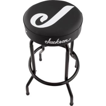 Jackson Barstool J Logo 30 Black and White