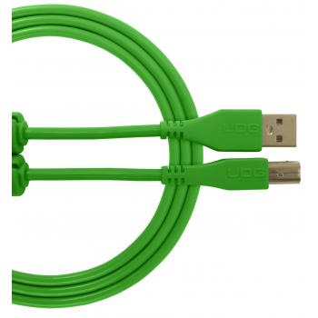 Udg U95003GR Ultimate Cable USB 2.0 A-B Verde 3 Metros