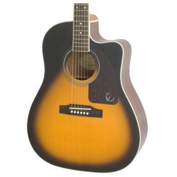 Epiphone AJ-220SCE Vintage Sunburst Guitarra Electroacustica