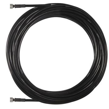 SHURE UA825 Cable coaxial de BNC a BNC, de 7,6 m de longitud.