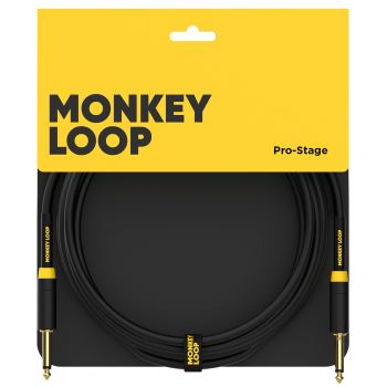 Monkey Loop Pro Stage Silent Cable Jack Mono - Jack Mono 5 Metros