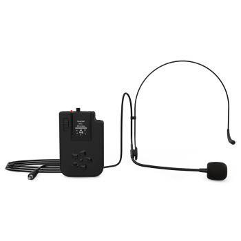 Audibax Headset Wireless Mic Freq 191.50 Mhz