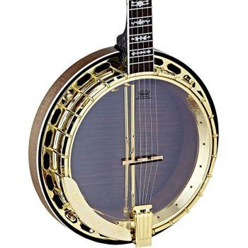 Ortega OBJ850-MA Banjo Natural Satinado