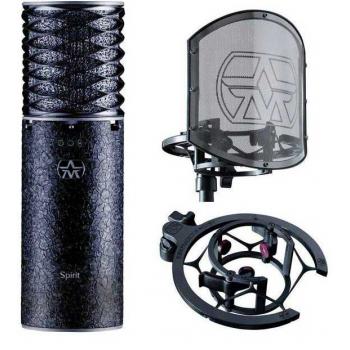 Aston Spirit Black Bundle Micrófono de estudio  +  Aston Swiftshield
