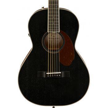 Fender Squier PM-2E Parlor Limited Open Pore Black. Guitarra Electroacústica