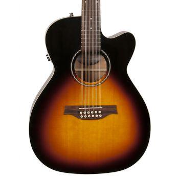 SEAGULL S12 CH CW Spruce Sunburst GT QIT. Guitarra Acústica