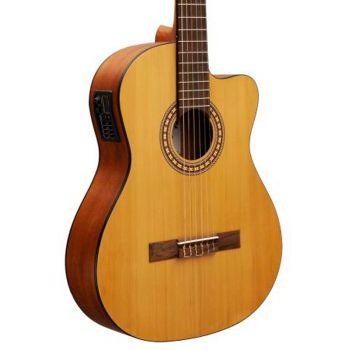Alysee C-3902CE. Guitarra Clásica Electrificada Natural
