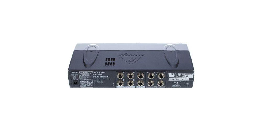 behringer amp800 conexiones