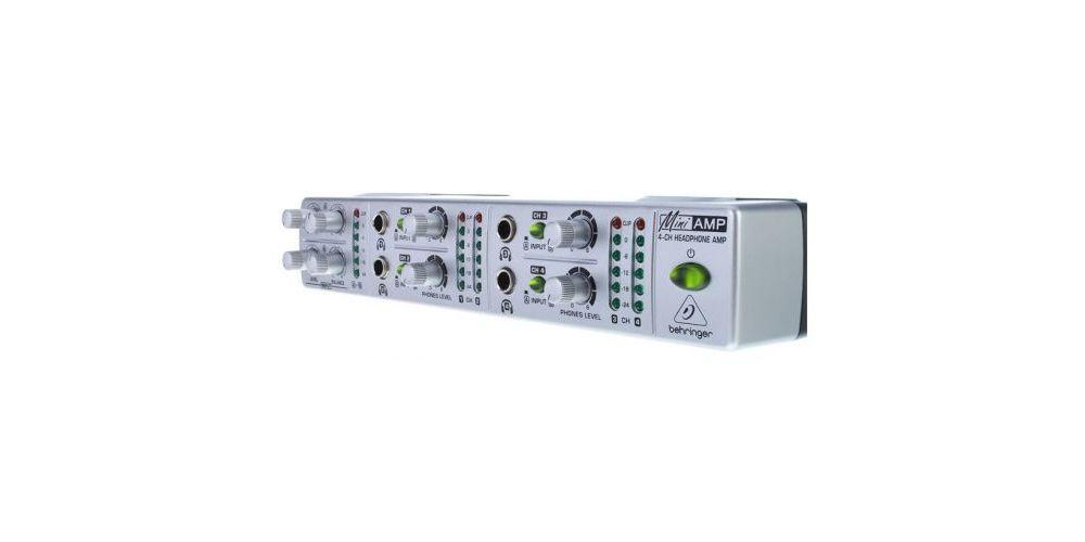 behringer amp800 controles