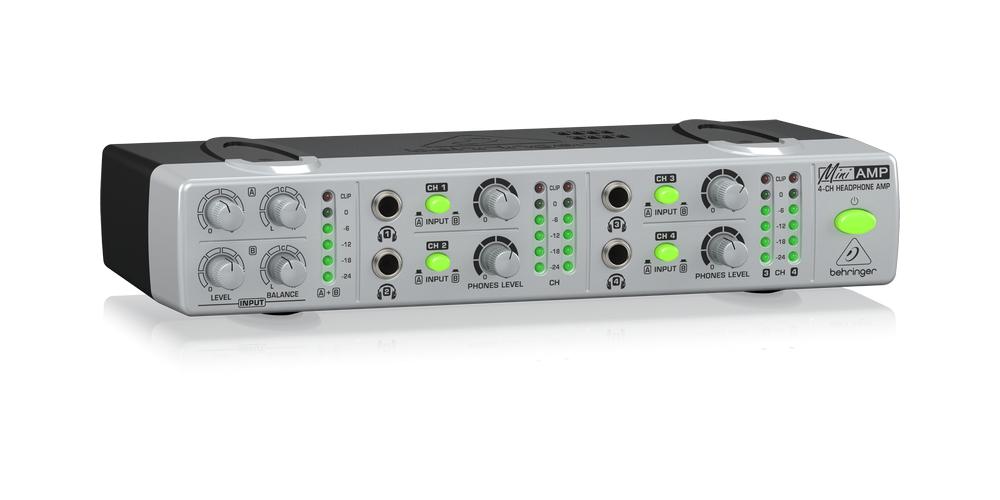 behringer amp800 front