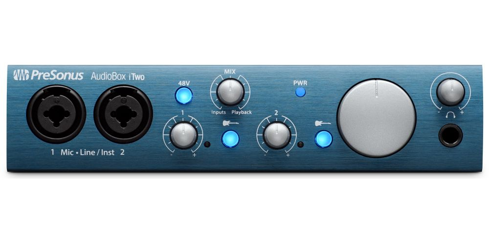 audiobox itwo interface