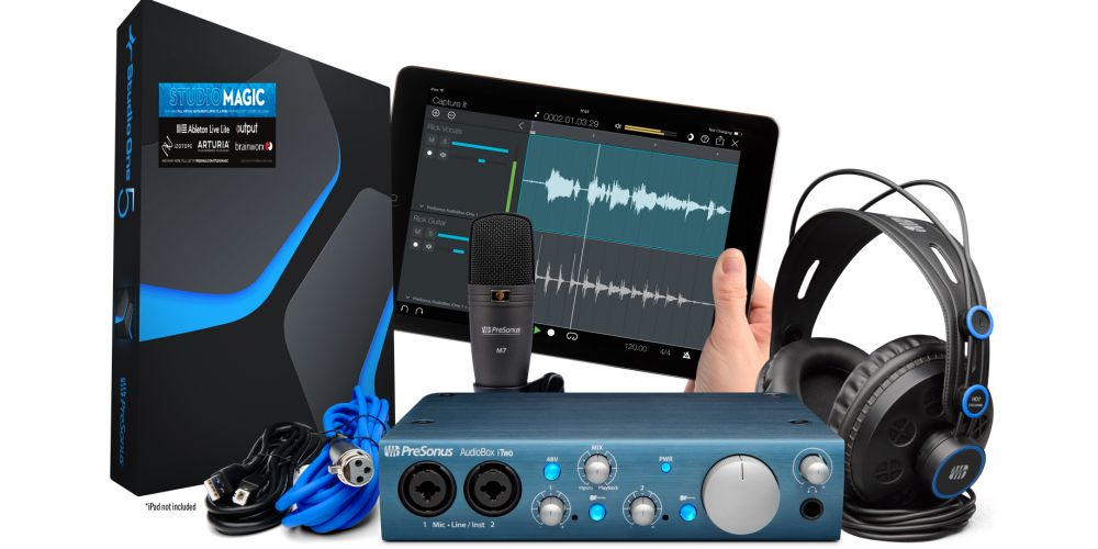presonus audiobox itwo studio v5
