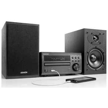 DENON DM-40 Black  Mini Cadena HiFi