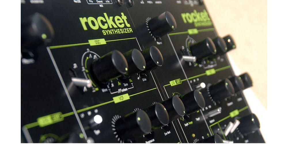 Waldorf Rocket  sintetizador analógico monofónico