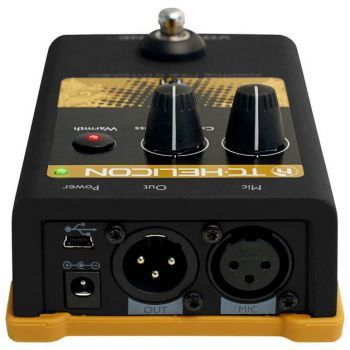 TC Helicon VoiceTone T1, Pedal Multiefectos Vocal -