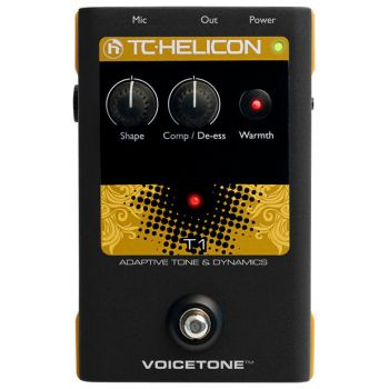 TC-Helicon VoiceTone T1 Multiefectos