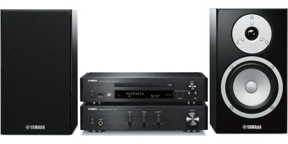 Yamaha MCR N670 black musiccast