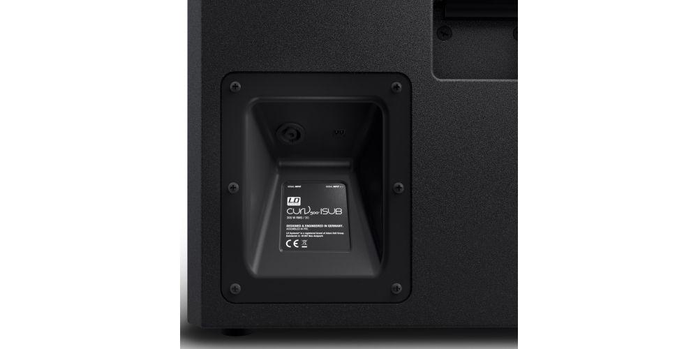 oferta subwoofer instalacion LDsystems CURV500ISUB
