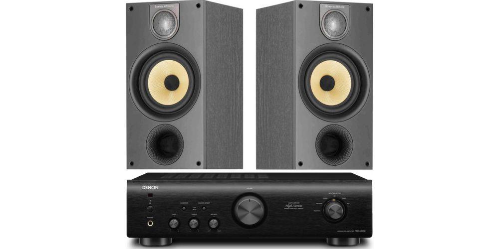 denon pma 520ae negro amplificador bw 686 black